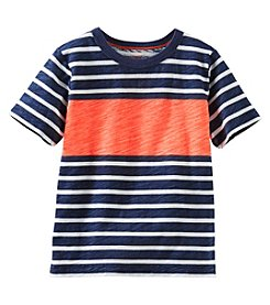 OshKosh B'Gosh® Boys' 2T-7X Short Sleeve Striped Tee