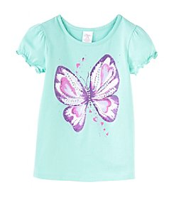 Little Miss Attitude Mix & Match Girls' 2T-6X Ruffle Puff Sleeve Tee