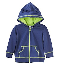 Cuddle Bear® Mix & Match Baby Boys' Zip Jersey Hoodie