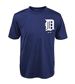 Majestic Boys' 4-20 Short Sleeve Detroit Tigers Tee