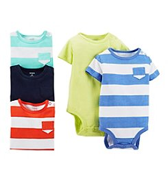 Carter's® Baby Boys' 5-Pack Short Sleeve Bodysuits