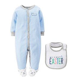 Carter's® Baby Boys' 2-Piece Easter Cotton Snap-Up Sleep & Play Set