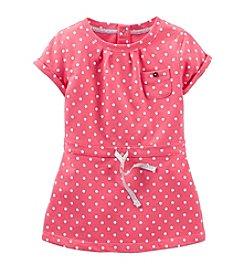 Carter's® Baby Girls' Short Sleeve Dot Print Dress