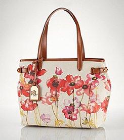 Lauren Ralph Lauren Bolton Shopper - Poppy Floral