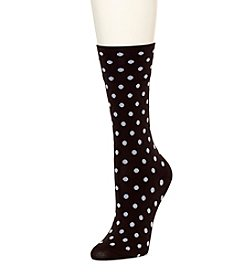 HUE® Ultrasmooth Dot Socks