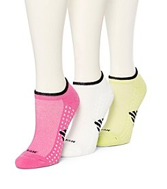 HUE® 3 Pack Air Cushion No Show Socks