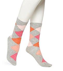 HUE® Argyle Socks