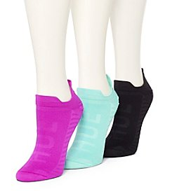 HUE® 3 Pack Air Sleek Tab Socks