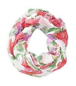 Lauren Ralph Lauren Jamie Floral Infinity Loop Scarf