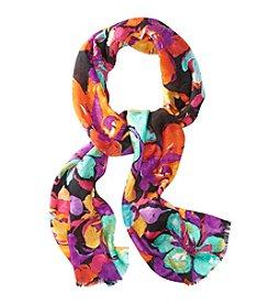 Lauren Ralph Lauren Gia Silk Jacquard Floral Scarf