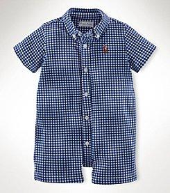 Ralph Lauren Childrenswear Baby Boys' Printed Shortalls