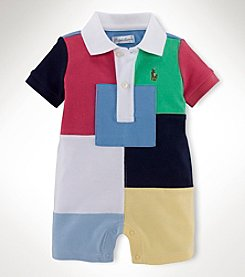 Ralph Lauren Childrenswear Baby Boys' Jersey Shortalls