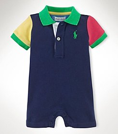Ralph Lauren Childrenswear Baby Boys' Mesh Shortalls