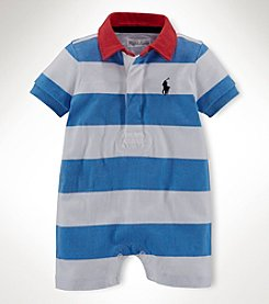 Ralph Lauren Childrenswear Baby Boys' 1-Piece Shortall