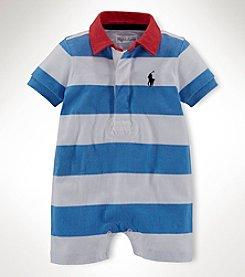Ralph Lauren Childrenswear Baby Boys' 1-Piece Shortall