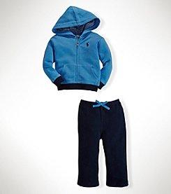 Ralph Lauren Childrenswear Baby Boys' 2-Piece Fleece Terry Set