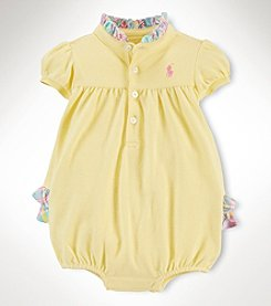 Ralph Lauren Childrenswear Baby Girls' Bubble Shortall