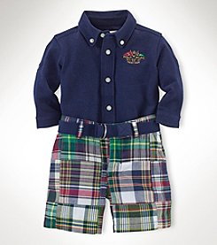 Ralph Lauren Childrenswear Baby Boys' 3-Piece Patchwork Set