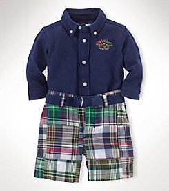 Ralph Lauren Childrenswear Baby Boys' 3-Piece Patchwork Set