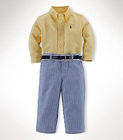 Ralph Lauren Childrenswear Baby Boys' 3-Piece Pants Set