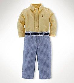 Ralph Lauren Childrenswear Baby Boys' 3-Piece Pants Set