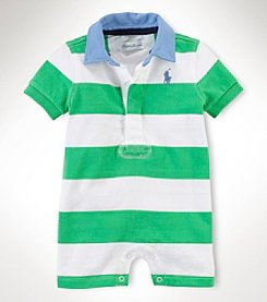 Ralph Lauren Childrenswear Baby Boys' Rugby Shortalls