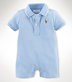 Ralph Lauren Childrenswear Baby Boys' Polo Shortalls