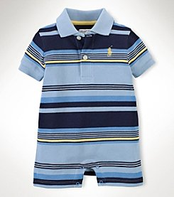 Ralph Lauren Childrenswear Baby Boys' Mesh Shortall