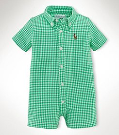 Ralph Lauren Childrenswear Baby Boys' Printed Shortalls