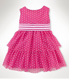 Chaps® Baby Girls' Dot Celebratory Dress
