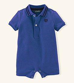 Chaps® Baby Boys' Solid Mesh Shortalls