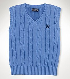 Chaps® Baby Boys' Cable Sweater Vest