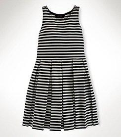 Ralph Lauren Childrenswear Girls' 7-16 Pleated Dress