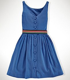 Ralph Lauren Childrenswear Girls' 7-16 Fit & Flare Dress