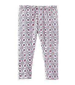 OshKosh B'Gosh® Girls' 2T-6X Geo Print Capri Leggings
