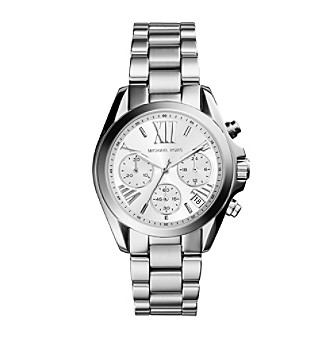 Michael Kors® Women's Silvertone Stainless Steel Mini Br