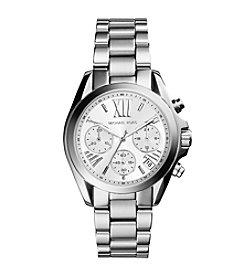 Michael Kors® Women's Silvertone Stainless Steel Mini Bradshaw Watch