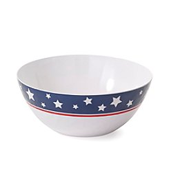 LivingQuarters Americana Serving Bowl