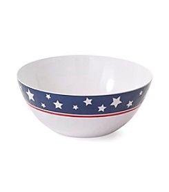 LivingQuarters Americana Serving Bowl