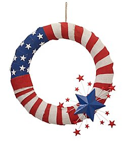 LivingQuarters Americana Wreath