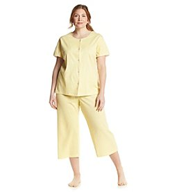 Intimate Essentials® Plus Size Polka Dot Pajama Set
