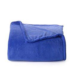 LivingQuarters Cobalt Micro Cozy Blanket
