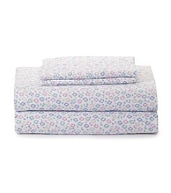 LivingQuarters Easy Care Microfiber Ditsty Floral Sheet Sets