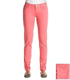 Celebrity Pink Sateen Skinny Jeans