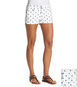 Wallflower® Anchor Embroidered Short