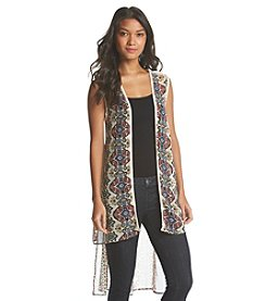 Hippie Laundry Oval Diamond Duster Vest