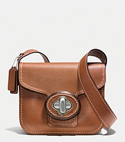 COACH DRIFTER SHOULDER BAG IN PEBBLE LEATHER
