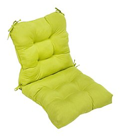 Greendale Home Fashions Kiwi Green Seat and Back Combo Cushion