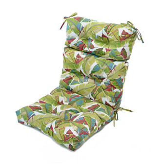 Greendale Home Fashions Palm Leaves in Multicolor Outdoor Hi