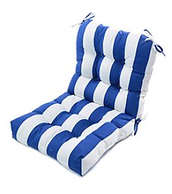 Greendale Home Fashions Cabana Stripe Outdoor Seat and Back Chair Cushion
